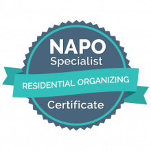 NAPO Residential Organizing Certification