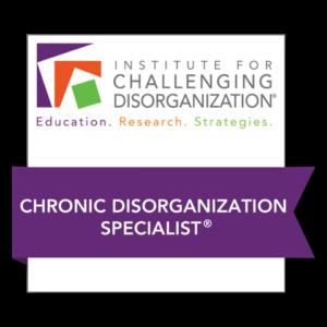 icd chronic disorganization specialist